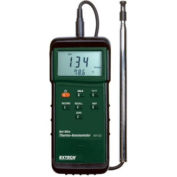 407123:Στιβαρής κατασκευής θερμού-σύρματος θερμο- ανεμόμετρο