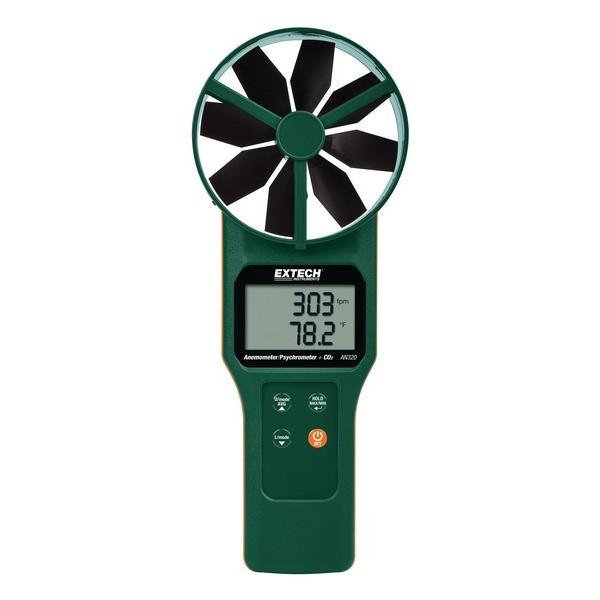 AN320: Mεγάλου ανεμοδείκτη CFM/CMM Θέρμο-ανεμόμετρο/ψυχρόμετρο και CO2
